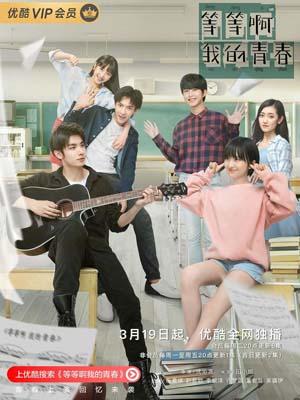 CHH1082 : ซีรี่ย์จีน Wait My Youth หวานมันส์ฉันมีเธอ (2019) (ซับไทย) DVD 4 แผ่น