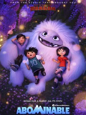 ct1345 : หนังการ์ตูน Abominable เอเวอเรสต์ มนุษย์หิมะเพื่อนรัก (2019) DVD 1 แผ่น