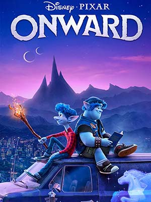 ct1360 : หนังการ์ตูน Onward คู่ซ่าล่ามนต์มหัศจรรย์ (2020) DVD 1 แผ่น