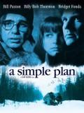 EE0297 : หนังฝรั่ง A Simple Plan แผนปล้นไม่ต้องปล้น (1998) DVD 1 แผ่น