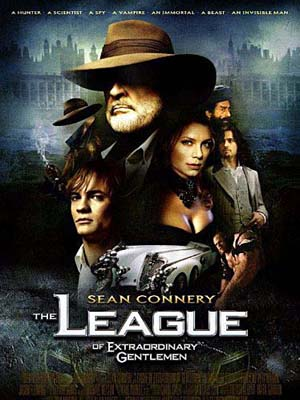 EE0685 : The League of Extraordinary Gentlemen มหัศจรรย์ชน คนพิทักษ์โลก DVD 1 แผ่น