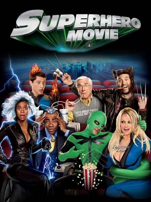EE0710 : Superhero Movie ไอ้แมงปอแมน ฮีโร่ซุปเปอร์รั่ว (2008) DVD 1 แผ่น