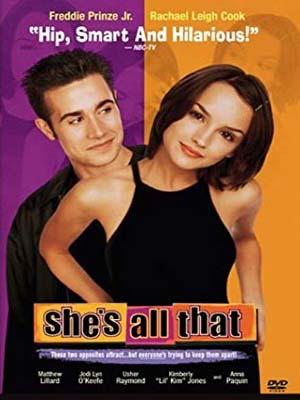 EE0746 : She's All That สาวเอ๋อ สุดหัวใจ (1999) (ซับไทย) DVD 1 แผ่น