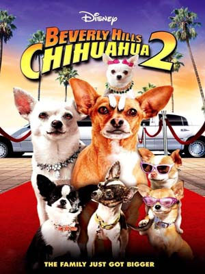 EE0751 : Beverly Hills Chihuahua 2 คุณหมาไฮโซโกบ้านนอกภาค 2 (2011) DVD 1 แผ่น