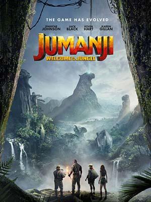 EE2602 : Jumanji: Welcome to the Jungle เกมดูดโลก บุกป่ามหัศจรรย์ DVD 1 แผ่น