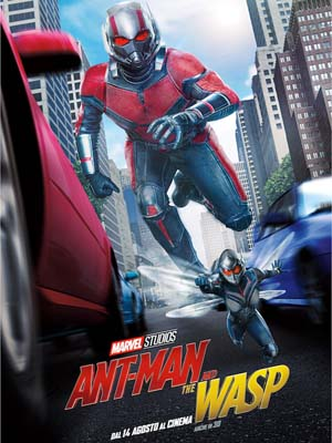 EE2945 : Ant-Man and The Wasp แอนท์-แมน และ เดอะ วอสพ์ DVD 1 แผ่น