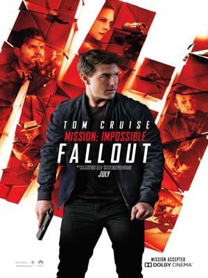 EE3011 : Mission Impossible 6 Fallout มิชชั่น อิมพอสซิเบิ้ล 6 ฟอลล์เอาท์ DVD 1 แผ่น
