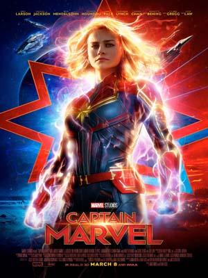 EE3250 : Captain Marvel กัปตันมาร์เวล (2019) DVD 1 แผ่น