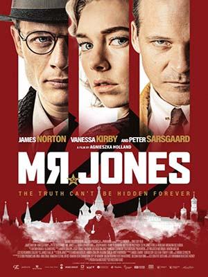 EE3514 : Mr.Jones ถอดรหัสวิกฤตพลิกโลก (2019) DVD 1 แผ่น