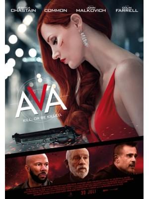 EE3537 : Ava เอวา มาแล้วฆ่า (2020) DVD 1 แผ่น