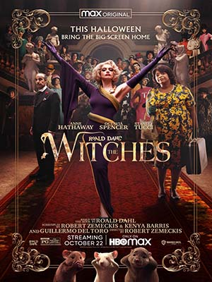 EE3543 : The Witches แม่มด ของ โรอัลด์ ดาห์ล (2020) DVD 1 แผ่น