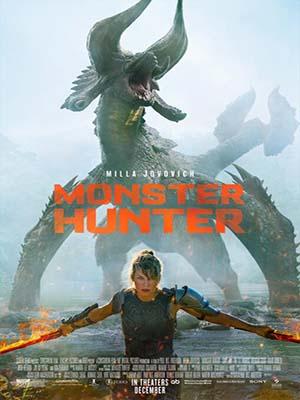 EE3544 : Monster Hunter มอนสเตอร์ ฮันเตอร์ (2020) DVD 1 แผ่น