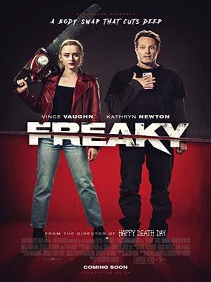 EE3554 : Freaky สลับร่างฆ่า ล่าป่วนเมือง (2020) DVD 1 แผ่น