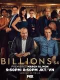 se1864 : ซีรีย์ฝรั่ง Billions Season 4 บิลเลียนส์ ซีซั่น 4 [พากย์ไทย] DVD 3 แผ่น