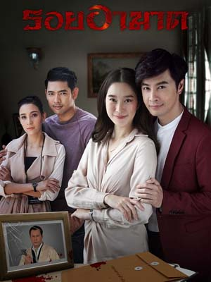 st1774 : ละครไทย รอยอาฆาต DVD 4 แผ่น