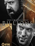 se1858 : ซีรีย์ฝรั่ง Billions Season 1 บิลเลียนส์ ซีซั่น 1 [พากย์ไทย] DVD 3 แผ่น