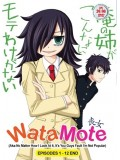 ct0986 :การ์ตูน Watamote สาวมืดมนอลวนหารัก   [พากษ์ไทย+ญี่ปุ่น] 2 แผ่นจบ
