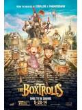 ct0994: The Boxtrolls บ็อกซ์โทรลล์ นี่แหละ..มอนสเตอร์ DVD 1 แผ่นจบ